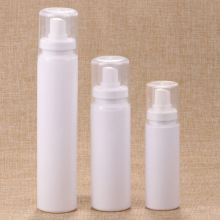 2017 Newest Design 60ml 100ml 150ml White Pet Bottle with Fine Sprayer