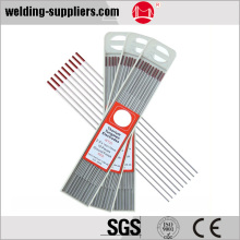 Red Color Tips & Ground Finish 2%Tungsten Electrode