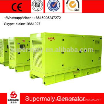 soundproof 200KVA Cummins diesel generator with 6CTAA8.3-G2 engine