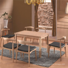 Supply Modern Restaurant Wood Long Tables and Chairs (SP-CT723)