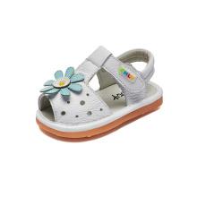 Mädchen Kleinkind Echtes Leder Sommer Sandalen