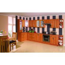 Park Avenue Raised (Honey Maple) Cabinet de cuisine en bois massif