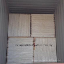 Tablero de la base del PVC del tablero del PVC del tablero del PVC de la espuma blanca
