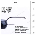Hot Selling Fly Fishing Tying Hooks