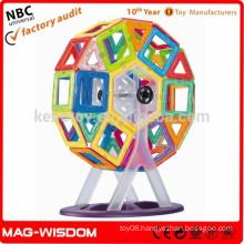 Hot sale MAG-WISDOM 3D construction toys