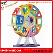 Venda quente MAG-WISDOM 3D brinquedos de construção
