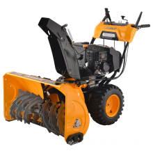 comenzar a 420cc15hp eléctrica, 2 etapas, 6 hacia adelante 2 reversa nieve blower(LZST-P005)
