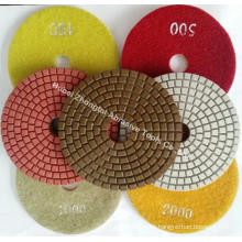 7 inch Wet Diamond Polishing Pads For Granite