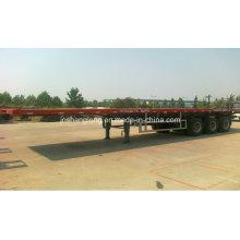 Semi-remorque à conteneur à trois essieux de 40 pieds