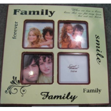 MDF Multi Photo Frame com tela de seda