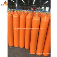 Fabricant en Chine 40L Cylindre à gaz à l'hélium