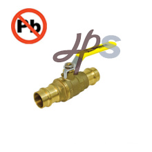 NSF standard low lead brass pex ball valve