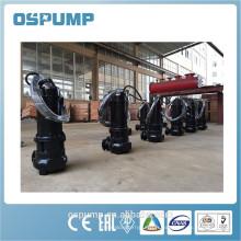 pompe submersible portative d'eaux d'égout