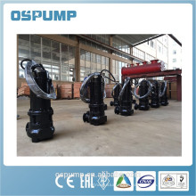 high flow submersible sewage pump