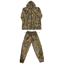 Military Woodland Digitcal Camo Rainsuit