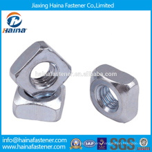 In Stock Chinese Supplier DIN557 Stainless Steel/Carbon Steel Square nut With HDG/Zinc Plated.