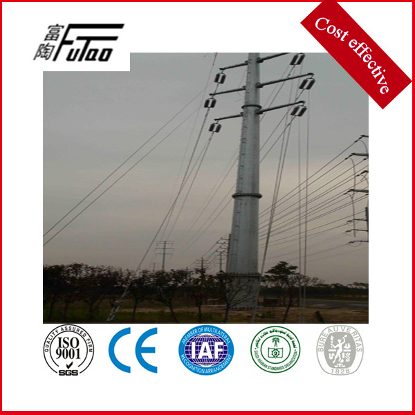 electric transmission tower pole