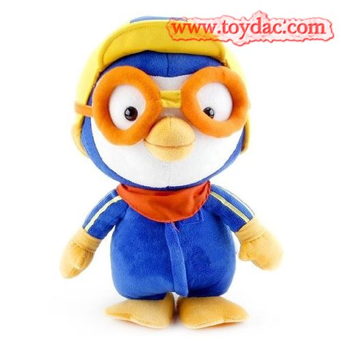 penguin mascot toy