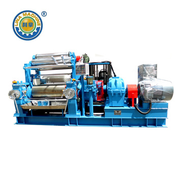 Customized Supplier for Mass Production Two Roll Open Mill 24 Inch Mass Two Roll Mixing Mill supply to France Manufacturer