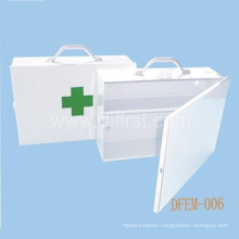 Empty First Aid Box for Emergency Medical Use / Metal Box (DFEM-006)