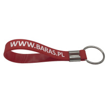 Personalised Silicone Key Chain Bracelet With Keyring