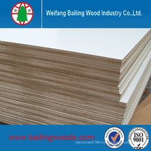 White Melamine MDF Board 18mm