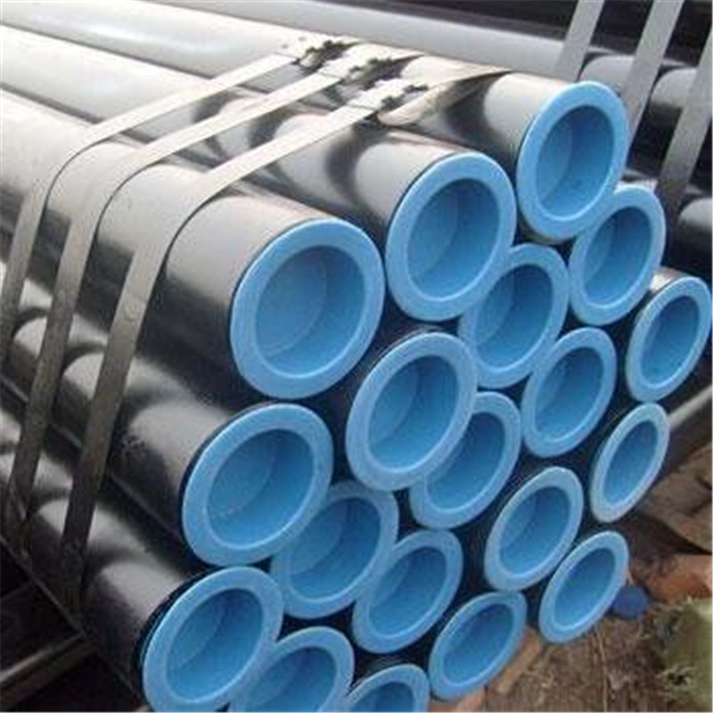 seamless pipe ASTM A53 API 5L ASTM A36 black painting