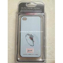 Caixa de embalagem de plástico barato caso de telefone celular (hh023)