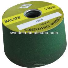 SATC- S / C china tigela longa vida útil roda abrasiva / roda de contato moedor