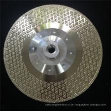 65mn schnelle marmorierte Diamantscheibe für Granitstein