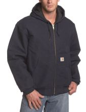 Winter Mens Jacket With Hood / Hood , Jersey Two Inside Pockets