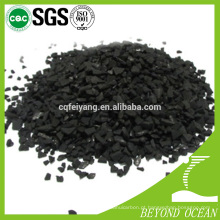 grânulos de carvão ativado de controle de odor mais novo