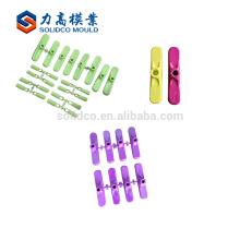 Máquina de moldeo de plástico Escoba Base de moldeo de piezas de plástico
