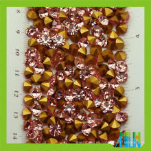 Chatones de cristal mc de alta calidad señalan chatons