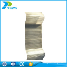 Top soldes de qualité supérieure en fibre de verre translucide clair en tôle ondulée