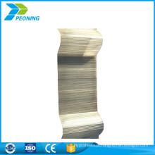 Top sale de boa qualidade ondulado transparente em estufa translúcida painéis de cobertura de fibra de vidro