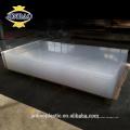 JINBAO grau sanitário de lavagem fácil cor clara leite 3mm acrílico folha