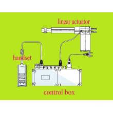 Entrada de C.C. de /24V CE 12V 200 mm carrera 6000n Loadcapacity muebles actuador lineal (FY01)