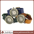 Mixed Color Wholesale Fashion Ladies Fancy Leather Watch