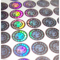 Shanghai hot selling Custom Hologram Sticker 3D Hologram Sticker