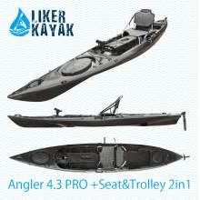 Рыболовный байдарка Angler 4.3 с двигателем