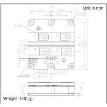 Mbn800e33e Mbn800e33e Micro-d Accessories Metal Protective Covers 500-017 & 500-037 Mitsubishi Igbt Power Module