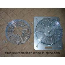 Protection de ventilateur de couvercle de ventilateur axial en métal d'échappement
