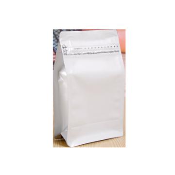 Bolsa de fondo plano personalizada con cremallera
