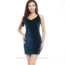 Los vestidos baratos vendedores calientes de las mujeres de la manera elegante visten el último vendaje de la manera del sexo del vestido del vendaje del diseño SD13
