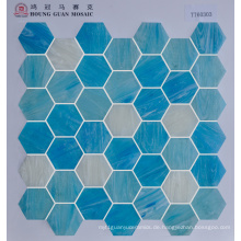 Hexigon Glas Mosaik 48by48mm