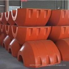 Оранжевый трубопровода поплавки с обслуживанием OEM