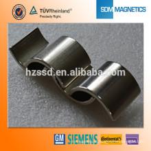 Super ímã de arco de neodímio forte para motor de imã permanente Qualidade assegurada