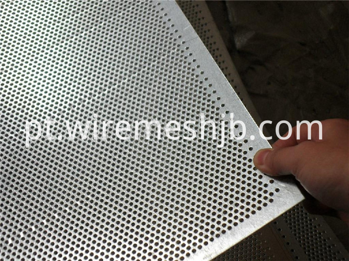 Galvanized Perforated Steel Sheet