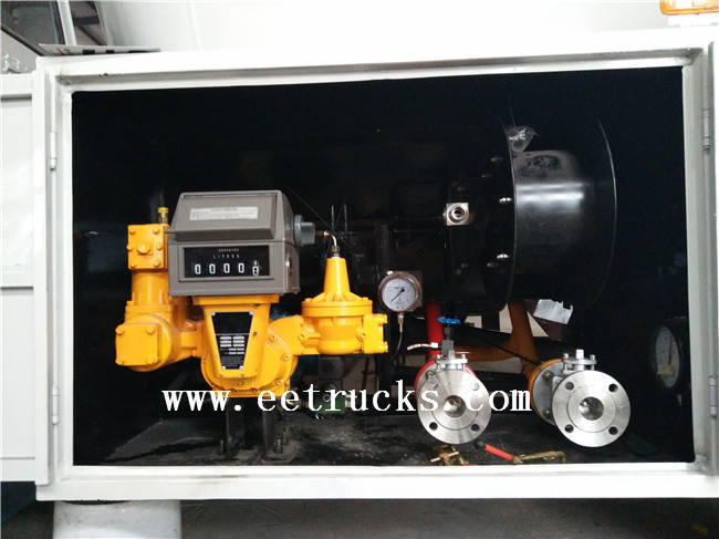 20 CBM LPG Dispenser Trucks with Flow Meter
